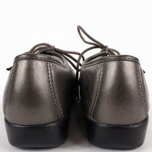 SAS Shoes - SAS Shoes Siesta Lace Up Loafer Silver Pewter sz 8